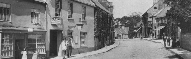 A street in Beaminster