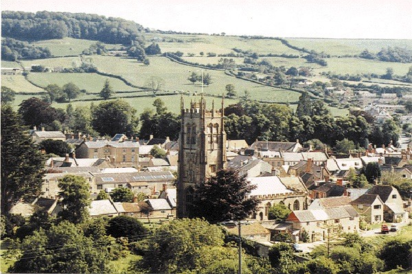 A view of Beaminster