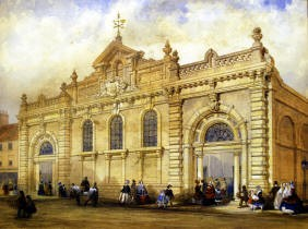 Painting of a building in Weymouth